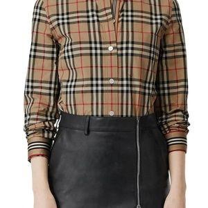Vintage Burberry Classic Fit Button Down Shirt